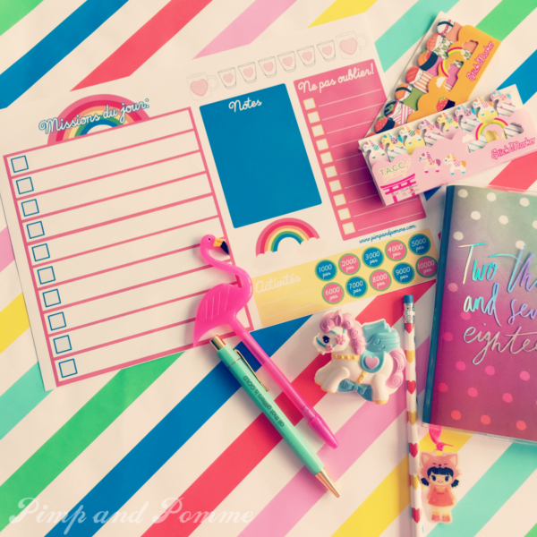 Planner Journée / Daily Planner