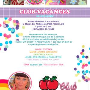 programme-club-vacances-pom-pom-club